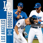 Los Angeles Dodgers 2021 12x12 Team Wall Calendar Cover Image