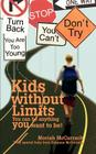 Kids without Limits: You can be anything you want to be! Cover Image