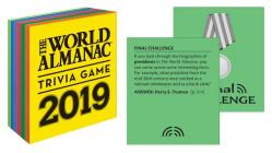 The World Almanac 2019 Trivia Game (World Almanac and Book of Facts ) Cover Image