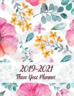 Three Year Planner 2019-2021: 36 Month Yearly Planner Monthly Calendar V13 Cover Image