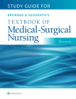 Study Guide for Brunner & Suddarth's Textbook of Medical-Surgical Nursing Cover Image