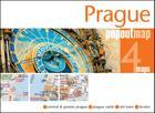Prague Popout Map: Handy, Pocket-Size, Pop-Up Map for Prague (Popout Maps) Cover Image