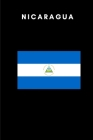 Nicaragua: Country Flag A5 Notebook to write in with 120 pages Cover Image