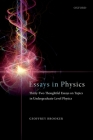 Essays in Physics: Thirty-Two Thoughtful Essays on Topics in Undergraduate-Level Physics Cover Image
