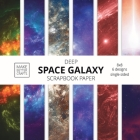 Deep Space Galaxy Scrapbook Paper: 8x8 Space Background Designer Paper for Decorative Art, DIY Projects, Homemade Crafts, Cute Art Ideas For Any Craft Cover Image