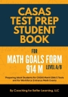 CASAS Test Prep Student Book for Math GOALS Form 914 M Level A/B Cover Image