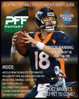 2014 Pro Football Focus Fantasy Draft Guide: July Update of the 2014 PFF Fantasy Draft Guide Cover Image