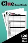 Clue Score Sheets: Size 6