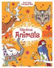 Fabulous Animals (Cool & Calm Coloring for Kids) Cover Image