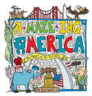 A-Maze-Ing America: 50 Mazes of the 50 States Cover Image