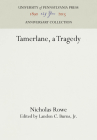 Tamerlane, a Tragedy Cover Image