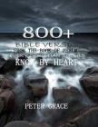800+ Bible verses from the book of psalm every Christian should know by heart Cover Image