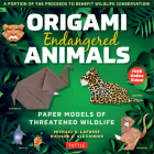 Origami Endangered Animals Kit: Paper Models of Threatened Wildlife [includes Instruction Book with Conservation Notes, 48 Sheets of Origami Paper, Fr Cover Image