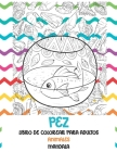 Libro de colorear para adultos - Mandala - Animales - Pez Cover Image