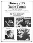History of U.S. Table Tennis Volume 14 Cover Image