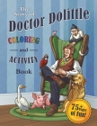 The Story of Doctor Dolittle Coloring and Activity Book Cover Image