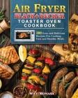 Air Fryer Black+Decker Toaster Oven Cookbook Cover Image