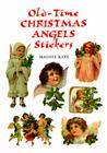 Old-Time Christmas Angels Stickers (Dover Stickers) Cover Image