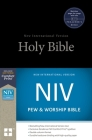 NIV, Pew and Worship Bible, Hardcover, Black Cover Image