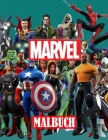 Marvel Malbuch Cover Image