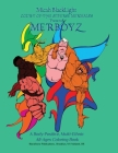 Court of the Diverse Mermaids Presents MERBOYZ: A Body Positive, Multi-Ethnic, All-Ages Coloring Book Cover Image