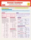 Korean Grammar Language Study Card: Essential Grammar Points for the Topik Test (Includes Online Audio) Cover Image
