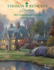 Thomas Kinkade Studios 2022 Monthly/Weekly Engagement Calendar with Scripture Cover Image