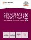 Graduate Programs in the Humanities, Arts & Social Sciences 2019 (Grad 2) Cover Image