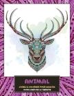 Livres à colorier pour adultes - Moins cher que la thérapie - Animal Cover Image