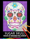 Sugar Skull Color by Numbers for Adults: Mosaic Coloring Book Stress Relieving Design Puzzle Quest Cover Image