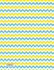 Lined Notebook Journal Blue Yellow ZigZags: Wide Ruled Composition Notebook for Writer, Student, Teacher, Nurse, Intern. Keep Diary, Schedule, Lecture Cover Image