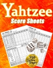 Yahtzee Score Sheets: 130 Pads for Scorekeeping, Yahtzee Score Pads, Yahtzee Score Cards with Size 8.5 x 11 inches Cover Image