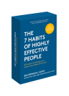 The 7 Habits of Highly Effective People: 30th Anniversary Card Deck (the Official 7 Habits Card Deck) Cover Image