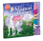 The Marvelous Book of Magical Horses: Dress Up Paper Horses and Their Fairy Friends [With Storage Envelope and 6 Paper Horses, 3 Paper-Doll Fairies, 4 Cover Image