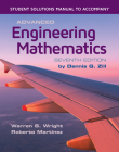 Student Solutions Manual to Accompany Advanced Engineering Mathematics Cover Image