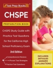 CHSPE Preparation Book: CHSPE Study Guide with Practice Test Questions for the California High School Proficiency Exam [3rd Edition] Cover Image