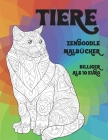 Zendoodle Malbücher - Billiger als 10 Euro - Tiere Cover Image