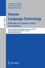 Human Language Technology. Challenges for Computer Science and Linguistics: 8th Language and Technology Conference, Ltc 2017, Poznań, Poland, Nov Cover Image