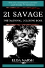 21 Savage Inspirational Coloring Book Cover Image