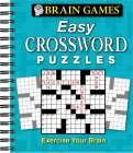 Brain Games - Easy Crossword Puzzles Cover Image