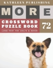 Large Crossword puzzles for Seniors: cool crossword puzzles for adults - More Full Page Crosswords to Challenge Your Brain (Find a Word for Adults & S Cover Image