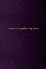 Chronic Migraine Log Book: Logbook for severe headaches track date, duration, triggers, symptoms, relief measures and medication used Unique purp Cover Image