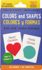 Bilingual Colors & Shapes Flash Cards (English/Spanish) Cover Image