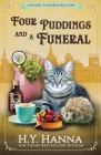 Four Puddings and a Funeral: The Oxford Tearoom Mysteries - Book 6 Cover Image