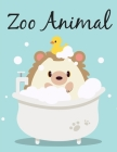 Zoo Animal: An Adult Coloring Book with Fun, Easy, and Relaxing Coloring Pages for Animal Lovers Cover Image