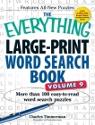 The Everything Large-Print Word Search Book, Volume 9: More Than 100 Easy-to-Read Word Search Puzzles (Everything®) Cover Image