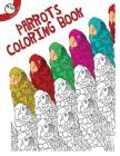 Parrot Coloring Book Cover Image