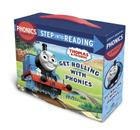 Get Rolling with Phonics (Thomas & Friends): 12 Step into Reading Books Cover Image