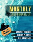 Monthly Bill Organizer: Paycheck Bill Planer with income list, Weekly expense tracker, Bill Planner, Financial Planning Journal Expense Tracke Cover Image