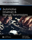 Automotive Drivetrain and Manual Transmissions: CDX Master Automotive Technician Series Cover Image